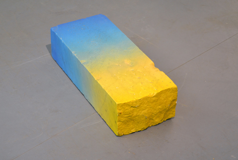 Mark Hosking, 'Marble/Fade', 2014, spray-painted marble, 13 x 20 x 47 cm.